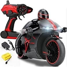 Tabu Toys World RC Motorcycle Bike With Built In Gyroscope