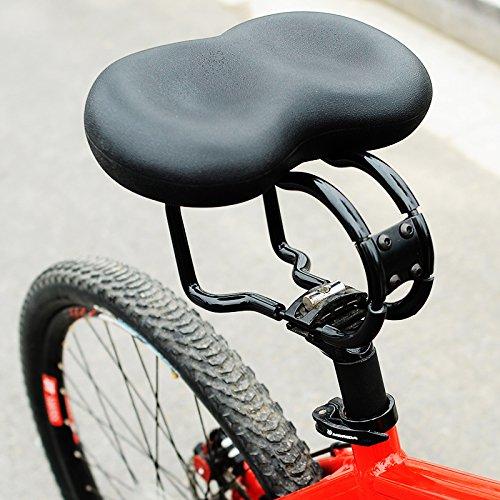 3M Überdimensionaler Comfort-Bike-Sitz Bequemste Ersatzfahrrad-Sattel-Universal Fit Für Heimtrainer und Outdoor-Bikes-Breiter Weicher Gepolsterter Fahrradsattel Für Damen und Herren