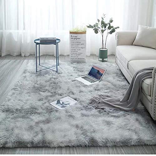 Zmymzm Moderner Shaggy Teppich rutschfest Yoga Teppiche Für Wohnzimmer Schlafzimmer Sofa Boden Waschbar Indoor Outdoor,C,160 * 230cm