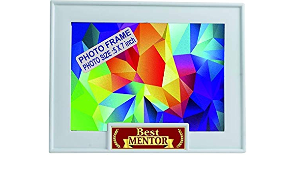 Buy Aark India Mentor Birthday Gift Best Mentor Trophy Award Gift Photo Frame Online At Low Prices In India Amazon In