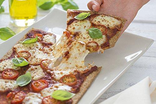Lizza Low-Carb Pizza-Teig aus Lein-Samen und Chia-Samen (8 x 180g) - 3