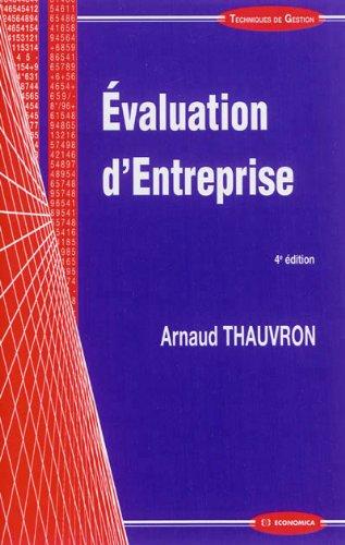 Évaluation d'entreprise