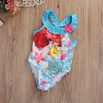 WDDBJN Bikini/Kinder Kleidung Kinder Baby Mädchen Little Suit Swimwear Badeanzug Bade Kostüm Kleinkind 1-6Y, M, Multi (M Und M Kostüme Für Kleinkinder)