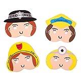 Foam Play Masks - People Who Help Us - Girls