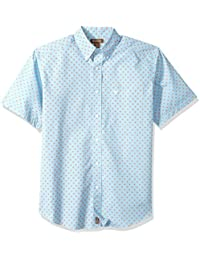 Ariat Men's Short Sleeve Performance Poplin Shirt