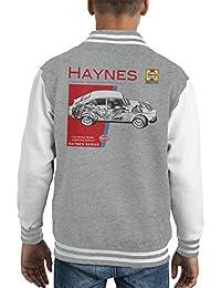 Haynes Owners Workshop Manual 0084 Volkswagen 1600 Fastback Kid's Varsity Jacket