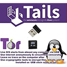 Linux Tails 3.5 Secure OS Anonymous Browsing on Bootable USB.