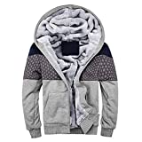 Hoodie Winter warme Fleece Zipper Pullover Jacke Outwear Mantel Tops Blusen Kinlene Herenen T-Shirt