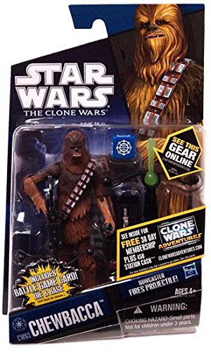 Hasbro Star Wars The Clone Wars Basic Figure Chewbacca / Star Wars 2011 The Clone Wars Action Figure CW63 Chewbacca [parallel import] (japan import)