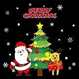 Weihnachten-fensteraufkleber,Dekorative wand aufkleber fenster glas aufkleber weihnachten dekoration aufkleber tür aufkleber-K