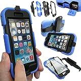 Coque Protection Robuste Usage Survivant Antichoc Robuste pour iPhone 3 3G 3GS - Bleu, Apple iPhone 6