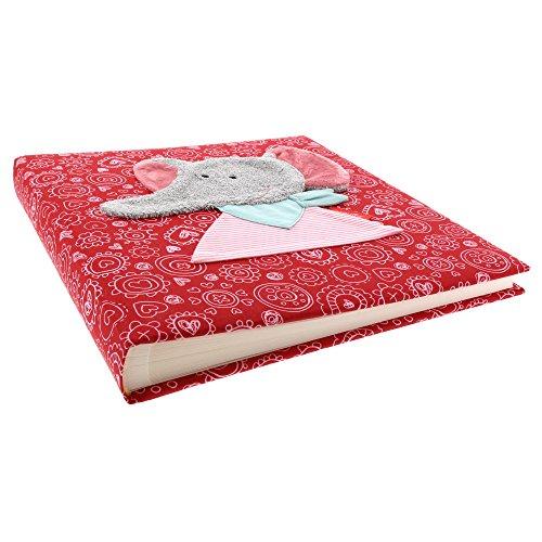 Goldbuch Babyalbum, Ele Bele, 30 x 31 cm, 60 weiße Blankoseiten mit 4 illustrierten Seiten und Pergamin-Trennblättern, Leinen mit...