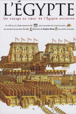 L'Egypte : Un voyage au coeur de l'Egypte ancienne par Stewart Ross