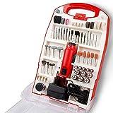TIMBERTECH Mini-Schleifer-Set, 120-tlg. 135 W inklusive Koffer Schleifermachine Multifunktionswerkzeug