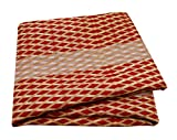 PEEGLI Rot Jahrgang Indisch Sari Abstrakt Gedruckt Wickeln