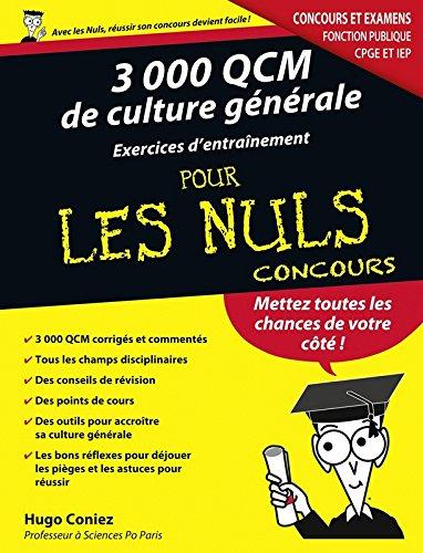 3000 QCM de Culture générale - Concour...