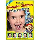 10la lengua Tatuajes de Lutz Mauder para niñas y niños//Tattoo lengua Niños Regalo Pegatinas