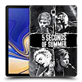 Head Case Designs Offizielle 5 Seconds of Summer Gerissenes Papier 2 Poster Ruckseite Hülle für Samsung Galaxy Tab S4 10.5 (2018)