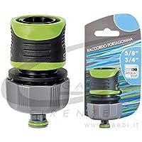 Verdemax 94465/8–3/4attacco rapido con arresto acqua
