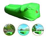 KeepSa Aufblasbare Sofa Air Lounger, 210D Nylon Water Proof Grid - Doppelschichten zu Halten Luft, Extrem Haltbar und Wearable