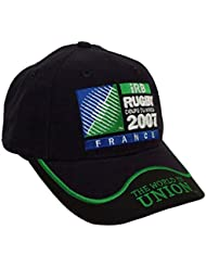 CASQUETTE Officielle IRB The World in Union - World Cup 2007 - Coupe du Monde de Rugby