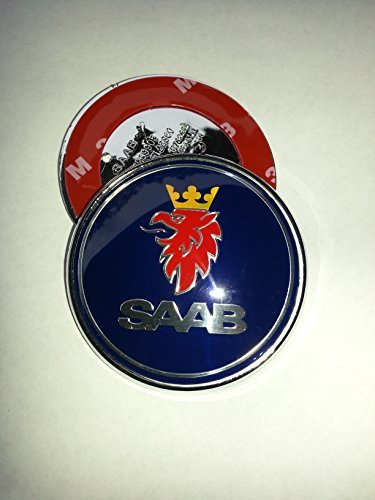 1-68-mm-brand-new-dark-blue-color-resin-front-badge-for-saab-3-pins