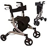 Best Rollator Walkers - EC X FOLD Lightweight folding rollator walking frame Review