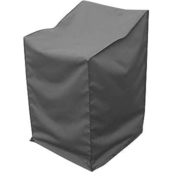 Greemotion Abdeckhaube Für Stapelstühle   Schutzhülle In Grau   Gartenmöbel  Abdeckung   Wetterschutz Hülle