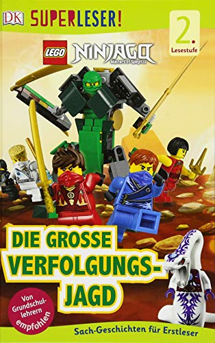 SUPERLESER! LEGO® NINJAGO® Die große Verfolgungsjagd: Sach-Geschichten für Erstleser, 2. Lesestufe