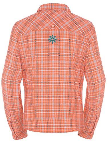VAUDE Sarentino Chemise à manches longues pour femmes Orange - Hokkaido