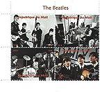 Die Beatles live auf der Bühne Briefmarkenbogen für Sammler - 4 Briefmarken - 2014 / Mali / 750F