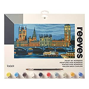 Reeves Creatividad - Pintar por números, Cámaras del Parlamento, grande