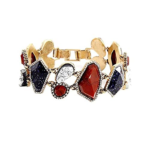 Einfaches Mosaik-Unregelmäßiges Diamantarmband