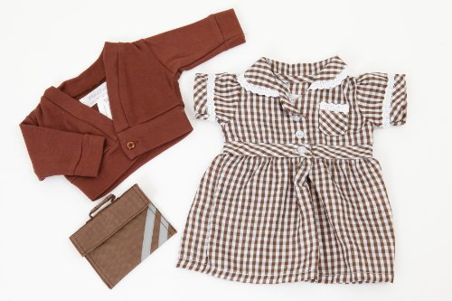 brown-dolls-summer-school-uniform-for-dolls-14-18ins35-45-cmdoll-not-includedto-fit-dolls-such-as-ca