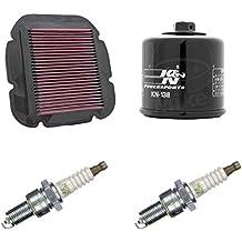 K & N ngk Mantenimiento Set Suzuki DL 650V de corriente de 04–11Service Kit