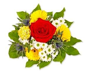 """Blumenstrauß Blumenversand """"Blumige Geburtstagsgrüße"""" +Gratis Grußkarte+Wunschtermin+Frischhaltemittel+Geschenkverpackung"""