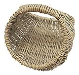 Childs Washed Wicker Gondola Shopping Basket
