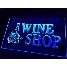 Wine/Wino Shop Bombilla LED Cartel Cartel Cargar Reklame Neon Neon Cartel Pub Bar Disco