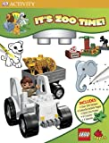Lego Duplo: It's Zoo Time!: Coloring and Activity Clipboard Kit
