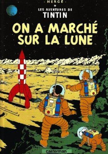 Les Aventures de Tintin, Tome 17 : On a marché sur la Lune : Mini-album par Herge