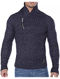 RED BRIDGE - Pull - Homme -  bleu - Small