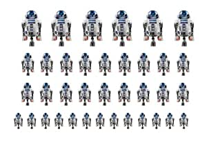 Easy to use nail art transfer stickers Starwars R2D2