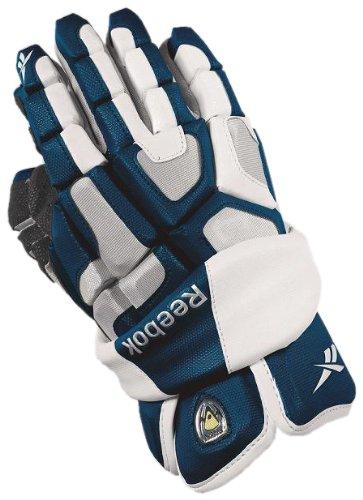 Reebok 6K Handschuh der Lacrosse Herren, marineblau / weiß