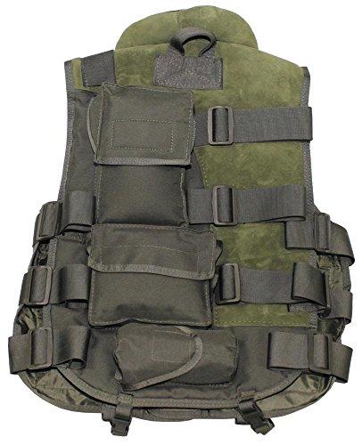 Tactical Weste, schwarz, 04503A Oliv