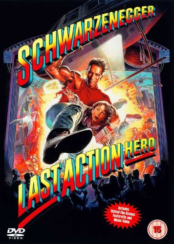 Last Action Hero Affiche du film Poster Movie Héros d'action dernier (11 x 17 In - 28cm x 44cm) UK Style A