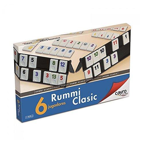 Cayro 712 - Rummi Classic 6 Jugadores +8 Años