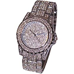 JACKY Women rhinestone ceramic crystal Quartz watches