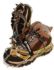 Veriga Camouflage Steigeisen Schuhkrallen EIS Krallen Schuh Spikes Schnee Ketten 33-48