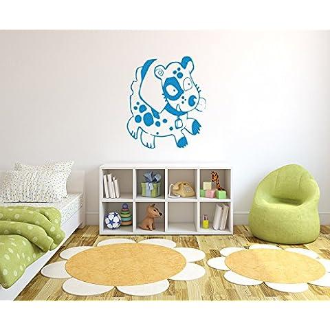 Carino Cane decalcomanie della parete, murale, autoadesivi della parete, autoadesivi della parete decorazione per soggiorno, camera da letto e il formato dei bambini: 1200x1030mm