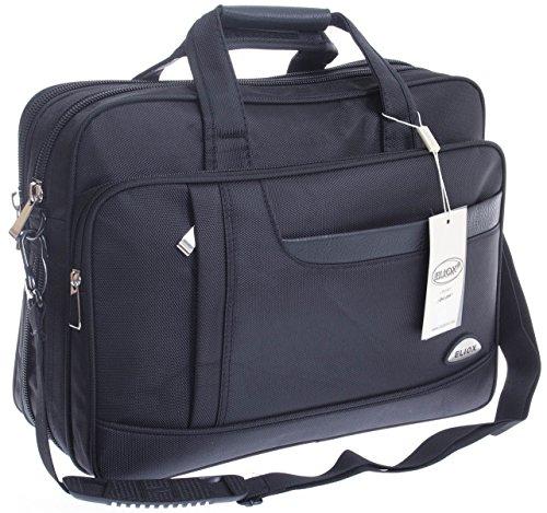 * Blu * XXL borsa a tracolla volo accompagnavano business Custodia oxs lurenzo al lavoro o in borsa nero